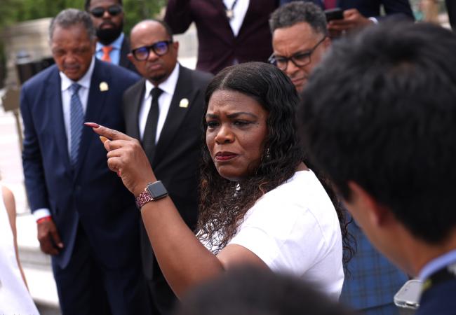 Cori Bush steers progressives to win on eviction crisis